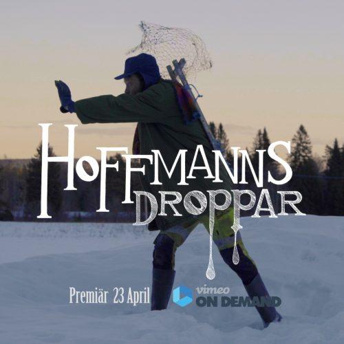 Hoffmanns droppar - Logotyp med text